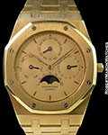 AUDEMARS PIGUET ROYAL OAK 18K PERPETUAL CALENDAR C SERIAL