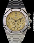 AUDEMARS PIGUET ROYAL OAK TROPICAL COLOR CHANGE DIAL