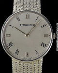 AUDEMARS PIGUET REF 14524 ULTRA THIN CALATRAVA AUTOMATIC 18KWG MINT BOX AND PAPERS