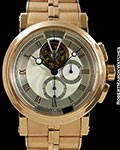 BREGUET REF 5837 PIECE UNIQUE TOURBILLON CHRONOGRAPH 18K ROSE GOLD