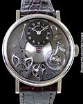 BREGUET LA TRADITION SQUELETTE 7027 18K WHITE GOLD