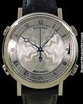 BREGUET LA MUSICALE 7800 CHIMING ALARM AUTOMATIC 48MM 18K WHITE GOLD NEW