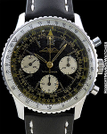 BREITLING NAVITIMER STAINLESS STEEL AOPA DIAL PAPERS