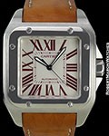 CARTIER SANTOS 100XL PLATINUM BOUTIQUE ONLY BOX & PAPERS