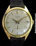 CARTIER VINTAGE 18K SCREW BACK BUMPER AUTOMATIC 1960S