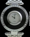 CARTIER PARIS PIECE UNIQUE 18K WHITE GOLD & CRYSTAL BAGUETTE DIAMONDS MADE FOR H.S.H. GABRIELA PRINCESS ZU LEININGEN