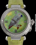 CARTIER PASHA AUTOMATIC RARE BOUTIQUE ENAMEL