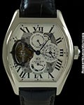CARTIER COLLECTION PRIVÉE TORTUE GRAND COMPLICATION TOURBILLON PERPETUAL CALENDAR PLATINUM