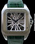 CARTIER SANTOS 100 XL PALLADIUM SKELETON