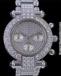CHOPARD IMPERIALE CHRONOGRAPH WHITE GOLD WITH DIAMONDS
