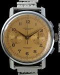 CHRONOGRAPHE SUISSE SALMON DIAL CHRONO CIRCA 1950
