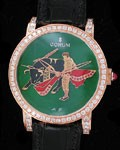 CORUM CLASSICAL MATADOR 18K ROSE DIAMOND BEZEL