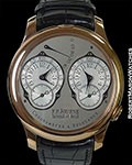 F.P. JOURNE CHRONOMETRE A RESONANCE 40MM 18K ROSE BOX PAPERS 100% UNWORN