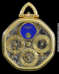 GERALD GENTA PERPETUAL SKELETON POCKET WATCH
