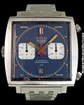 HEUER STEVE MCQUEEN MONACO STAINLESS CHRONOGRAPH AUTOMATIC