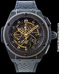 HUBLOT KING POWER BLACK MAMBA KOBE BRYANT LIMITED EDITION NEW