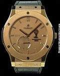 HUBLOT CLASSIC FUSION FIFA WORLD CUP BRASIL 2014 18K ROSE GOLD NEW