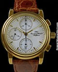 IWC AMALFI 18K NEW OLD STOCK AUTOMATIC CHRONOGRAPH