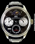 IWC PORTUGUESE PERPETUAL CALENDAR STEEL CELLINI LIMITED EDITION 44MM