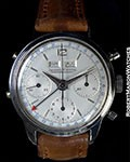 JLC DATOCOMPAX STAINLESS - VINTAGE 1950'S VALJOUX MOVEMENT