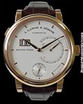 A. LANGE & SOHNE 31 18K ROSE GOLD 31 DAY POWER RESERVE NEW