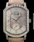 A. LANGE & SOHNE GRAND ARKADE 18K WHITE GOLD W/BAGUETTE DIAMONDS NUMBERED EDITON