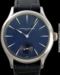 Laurent Ferrier 229.01 Blue Enamel Dial 18K/Strap