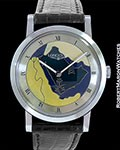 LONGINES SAUDI ARABIA CLOISONNE ENAMEL DIAL STAINLESS