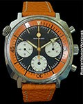 MOVADO SUPER SUB SEA 146HP ORANGE STEEL CHRONOGRAPH
