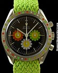 OMEGA FLOWER POWER SPEEDMASTER STEEL LIMITED EDITION OF 10