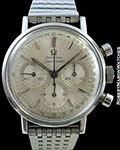 OMEGA VINTAGE SEAMASTER CHRONOGRAPH STEEL BOX & PAPERS