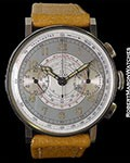 Omega Cal. 33.3 1940's Multi-Scale Chrono in New Old Stock Condition!