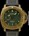 PANERAI BRONZO PAM00382 LUMINOR SUBMERSIBLE 1950 3 DAYS AUTOMATIC