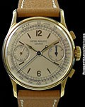 PATEK PHILIPPE 1436 18K SPLIT SECONDS CHRONOGRAPH