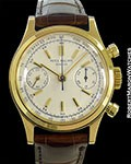 PATEK PHILIPPE 1463 VINTAGE OVERSIZED SCREW BACK CHRONOGRAPH 18K