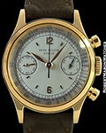 PATEK PHILIPPE 1463 VINTAGE WATERPROOF 18K ROSE GOLD CHRONOGRAPH
