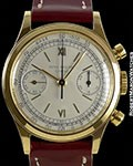 PATEK PHILIPPE 1463 VINTAGE WATERPROOF 18K SCREW BACK CHRONOGRAPH