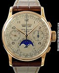 PATEK PHILIPPE 1518 PERPETUAL CALENDAR MOONPHASE CHRONOGRAPH 18K ROSE GOLD