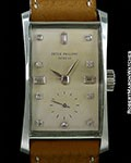PATEK PHILIPPE 1593 PLATINUM HOUR GLASS UNPOLISHED