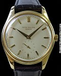PATEK PHILIPPE 2526 18K SCREW BACK AUTOMATIC ENAMEL DIAL