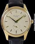 PATEK PHILIPPE 2526 CALATRAVA 18K SCREW BACK AUTOMATIC PATEK SERVICED