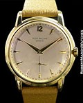 PATEK PHILIPPE 2551 VINTAGE 18K CALATRAVA SCREW BACK AUTOMATIC 1950S