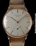 PATEK PHILIPPE 3420R CALATRAVA 18K ROSE ANTI-MAGNETIC BOX & PAPERS