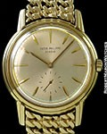 PATEK PHILIPPE CALATRAVA 3444 AUTOMATIC 18K/18K SCREW BACK GAY FRERES BRACELET