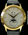 PATEK PHILIPPE 3450 18K NEW OLD STOCK AUTOMATIC PERPETUAL CALENDAR BOX PAPERS