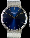 PATEK PHILIPPE 3588/2 18K WHITE GOLD AUTOMATIC BOX & PAPERS