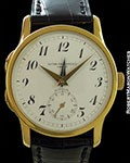 PATEK PHILLIPE 3619 CALTARAVA DUAL TIME ZONE 18K