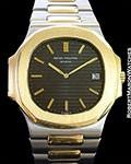 PATEK PHILIPPE JUMBO NAUTILUS 3700/1 JA 18K/STEEL AUTOMATIC 1970'S