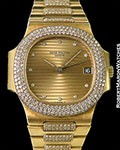 PATEK PHILIPPE NAUTILUS 3800/5 18K DIAMONDS AUTOMATIC