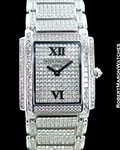 PATEK PHILIPPE TWENTY 4 4910/51G 18K WHITE GOLD DIAMOND PAVE